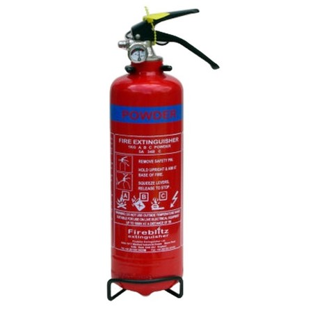 Fire Extinguishers For Static CAravans & Holiday Homes